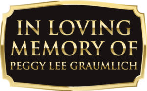 In Memory of Peggy Lee Graumlich